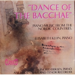 Dance of the Bacchae. Elisabeth Klein piano. 1 CD. Classico