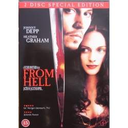 From Hell. Johnny Deep - Heather Graham. 2 DVD.