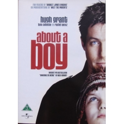 About a Boy. Hugh Grant, Nicholas Hoult, Toni Collette 1 DVD. Drama