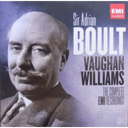 Vaughan Williams: Symfoni nr. 1. (A Sea symfoni). Sir Adrian Boult, London Philharmonic Orchestra. 1 CD. EMI