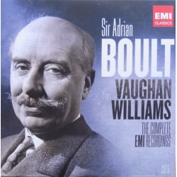 Vaughan Williams: Symfoni nr. 7 & 8. Sir Adrian Boult, London Philharmonic Orchestra. 1 CD. EMI