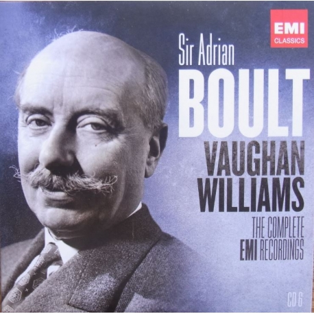 Vaughan Williams: Norfolk Rhapsody no. 1. - In Fen Country, etc. LPO, Sir Adrian Boult. 1 CD. EMI