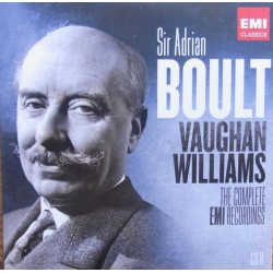 Vaughan Williams: Koncert for 2 klaverer og orkester. & Job. LPO, Sir Adrian Boult. 1 CD. EMI