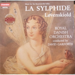 Løvenskiold: La Sylphide. Kgl. Kapel. David Garforth. (Bournonville ballet). 1 LP. Chandos