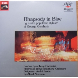 Gershwin: Rhapsody in Blue, - An a American in Paris. Andre Previn. 1 LP. EMI