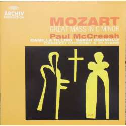 Mozart: Mass in C minor. K427. & Beethoven: Ah Perfido. Gabrieli Consort. Paul McCreesh. 1 CD. Archiv