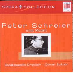 Peter Schreier sings Mozart Opera Arias. Otmar Suitner. 1 CD. Berlin Classics. New Copy