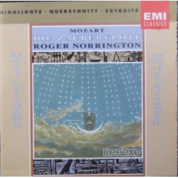 Mozart: Die Zauberflöte in highlights. Roger Norrington. 1 CD. EMI