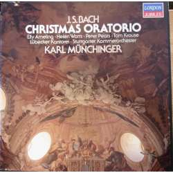Bach: Christmas Oratorio. Ameling, Watts, Pears. Karl Münchinger. 3 LP. Decca