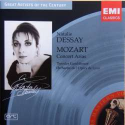 Mozart: Koncertarier. Natalie Dessay, Guschlbauer. 1 CD. EMI. Great Artists of the Century.