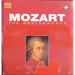 Mozart: The Masterworks. 40 CD. Brilliant Classics. New Copy