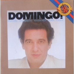 Placido Domingo, Arias by Puccini, Donizetti, Massenet, Verdi, Cilea. 1 CD. Sony