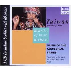 Music of man Archives. Taiwan. Music of the Aboriginal Tribes. 1 CD. Jecklin