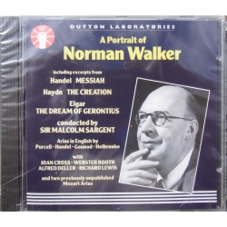 A Portrait of Norman Walker. 1 CD.