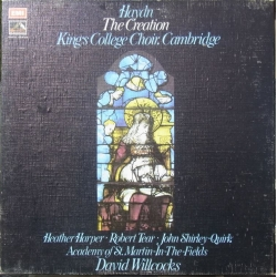 Haydn: Skabelsen. Harper, Tear, Quirk, David Willcocks. 2 LP. EMI. SLS 971
