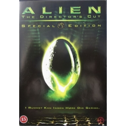 Alien. Sigourney Weaver. Special Edition. 1 DVD. Science-Fiction