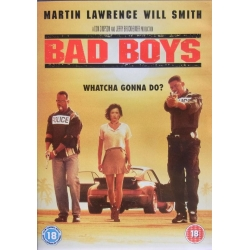 Bad Boys. Will Smith, Martin Lawrence. 1 DVD. Action