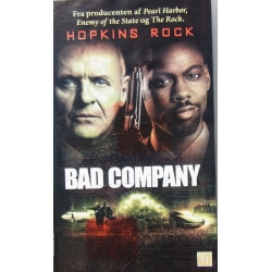 Bad Company. Anthony Hopkins & Peter Stomare. 1 DVD. Action