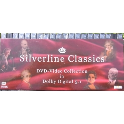 Silverline Classics. DVD Video Collection, in Dolby Digital 5.1. 20 DVD Amado. Nyt eksemplar
