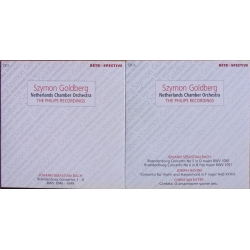 Bach: 6 Brandenburg-koncerter. Szymon Goldberg. & Haydn: Koncert for violin og cembalo. 2 CD. Brilliant Classics