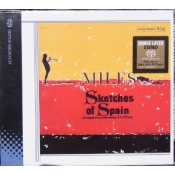 Miles Davis: Sketches of Spain. 1 CD. SACD. CBS. 65142