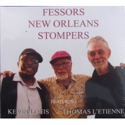Fessors New Orleans Stompers feat. Kevin Louis & Thomas L'Etienne. 1 CD. Olufsen Records