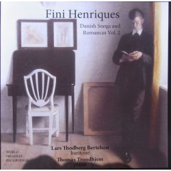 Fini Henriques. Danish songs and romances. Vol. 2. 1 CD. CDK 1157