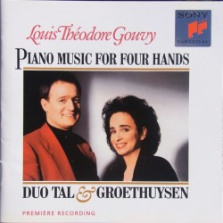Gouvy: Piano music for four hands. Yaara Tal & Andreas Groethuysen. 1 CD. Sony