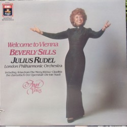 Welcome to Vienna. Berverly Sills, Julius Rudel. 1 LP. EMI