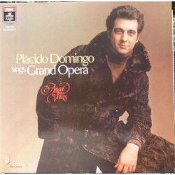 Placido Domingo sings Grand opera. 2 LP. EMI