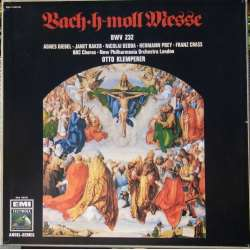 Bach: Mass in B minor. Janet Baker, Agnes Giebel. Otto Klemperer. 3 LP. EMI