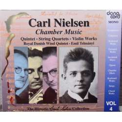 Nielsen, Carl: Complete Chamber music. Erling Bloch and Koppel quartet. 3 CD. Danacord