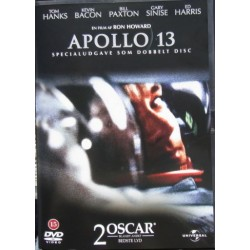 Apollo 13. Tom Hanks, Kevin Bacon, Bill Paxton, Gary Sinise, Ed Harris. 133 min. 2 DVD Action