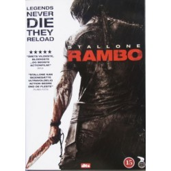 Rambo 4. Legends Never Die They Reload. Sylvester Stallone. 1 DVD. Action