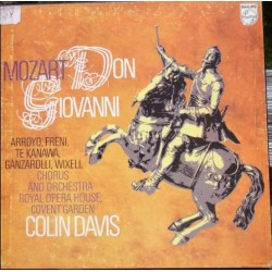 Mozart: Don Giovanni. Arroyo, Freni. te Kanawa, Colin Davis. 4 LP. Philips