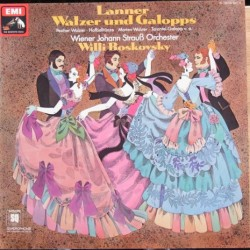 Lanner Walzer and Galopps. Willi Boskovsky. 1 LP. EMI
