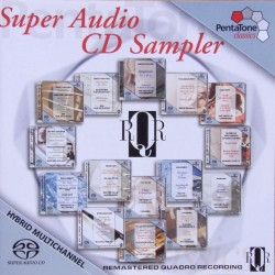Super Audio CD Sampler. 1 CD. Pentatone