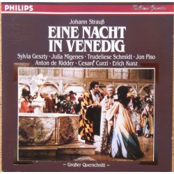 J. Strauss: En nat i Venedi. (uddrag). Kurt Eichhorn. 1 CD. Philips