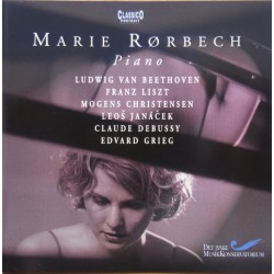 Marie Rørbech. Piano. Beethoven, Liszt, Christensen, Janacek, Debussy, Grieg. 1 CD. Classico