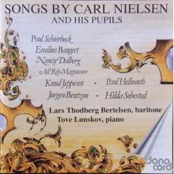 Danish Songs by Carl Nielsen and his pupils. Berthelsen, Lønskov. 1 CD. Danacord. New Copy