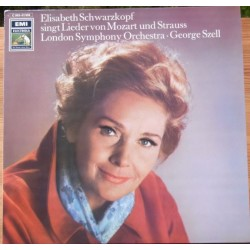 Elisabeth Schwarzkopf sings lieder by Mozart and R. Strauss. 1 LP. EMI