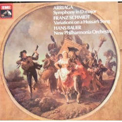 Arriaga: Symphony in D. & Franz Schmidt: Variations on a Hussar's Song. 1 LP. EMI