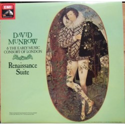 David Munrow and The Early music consort of London. Renaissance Suite. 1 LP. EMI