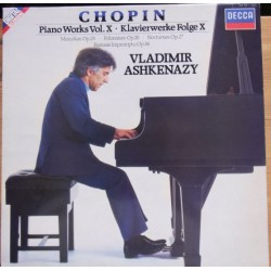 Chopin: Piano Works vol. X. Vladimir Ashkenazy. 1 LP. Decca