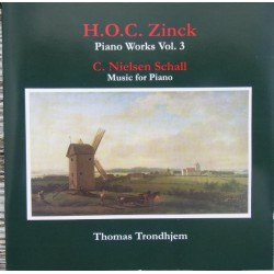 H.O.C. Zinck: Piano Works. Vol. 3. Thomas Trondhjem. 1 cd. CDK 1100