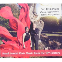 Royal Danish flute music from the 18th Centtury. Duo Tramontana. (2016) 1 CD. Olufsen DOCD 1161