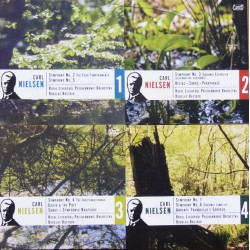 Nielsen: Symfoni nr. 1-6. Bostock, Royal Liverpool PO. 4 cd. Classico