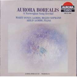 Boralis. A Norwegian Song Recital. 1 CD. Aurora