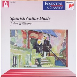 Spanish Guitar music. John Williams. 1 CD. Sony