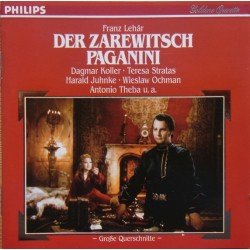 Lehar: Der Zarewitsch & Paganini. (highlights). Willy Mattes. 1 CD. Philips